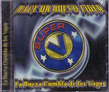 Super V Nace un Nuevo Lider La Nueva Cumbia de Los Vagos CD New Nuevo Sealed
