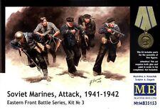 1/35 Soviet Marines Attack 1941-42 figure (5) set by Master Box 35153