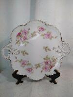 Antique R&C Rosenthal Monbijou decorative plate Bavaria with doble handled.