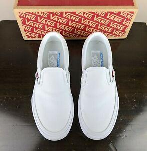 Men's Vans Slip On Ultracush Pro Shoes - True White
