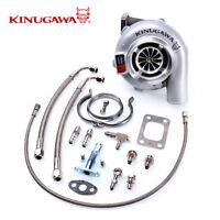 "Kinugawa Ball Bearing Turbocharger 4"" Anti Surge GTX3076R 60mm w/ .73 T3 V-Band"
