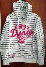 WALT DISNEY WORLD hooded sweatshirt XL beat-up stripes hoodie 1971 Property Of
