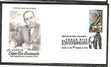 US SC # 4702 Edgar Rice Burroughs FDC. Artcraft Cachet