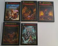 AD&D 2nd Edition Set Player Dungeon Master Shattered Circle
