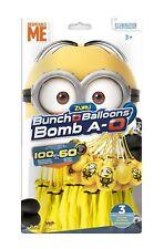 ZURU 31137 Bunch O Balloon Minions Wasserbomben 100 Wasser Bomben 60 Sekunden