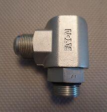 "1"" hydraulic steel swivel joint Eaton FS65009-16-16-01 Aeroquip 3500 PSI NEW"