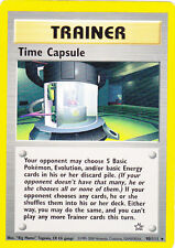 POKEMON TIME CAPSULE TRAINER CARD FREE SHIPPING