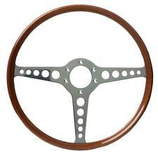 "Moto-Lita Jaguar XKE Type OEM Mahogany 15"" Steering Wheel"