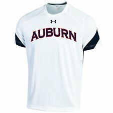 Under Armour Auburn Tigers Sideline Micro Thread Mens Performance Tech Tee Small