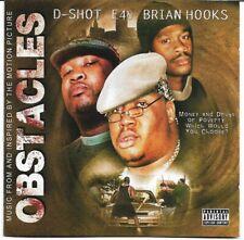 E-40 - Obstacles * 2000 * CD & DVD * D-Shot * The Click * RARE * OOP