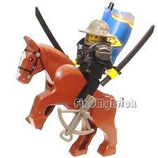 M142 Lego CUSTOM  Samurai Warrior Swordsman Soldier Minifigure & Horse NEW