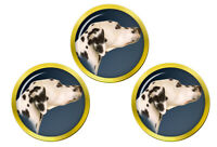 Dalmatien Chien Balle de Golf Marqueur