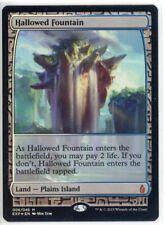 Foil Hallowed Fountain x 1 MTG Magic the Gathering Zendikar Expedition
