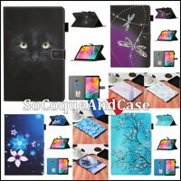 Etui Coque Housse COLORS Cuir PU Leather Case Cover Tablet Samsung Galaxy Tab