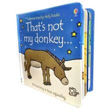 That's Not My Donkey (Usborne Touchy-Feely Board Books), F. Watt, R. Wells