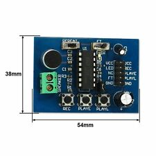 ISD1820 voice board sound recording recorder Playback module on-board microphone