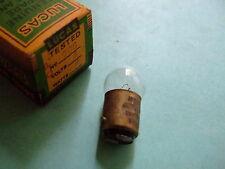 6 volt 6 watt SBC sidelight bulb Vintage or Classic Car and motorbike Lucas 206