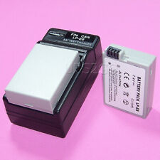 1360mAh Large Capacity Camera Battery Fast Charging Charger for Canon EOS 600D