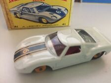 Matchbox #41 Ford G.T. Racer w/ Original Box