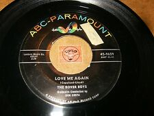 THE ROVER BOYS - LOVE ME AGAIN - COME TO ME  / LISTEN - DOO WOP POPCORN