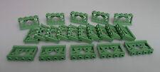 LEGO® City Hobbit Friends 20x Ornament Zaun 1x4 sandgrün 19121 Neu Fence MOCs