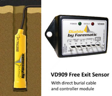 DIABLO - VD909 -'Dynamite' Mini-Loop Vehicle Detector Sensor