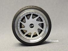 99080-16 Jantes Alu 1:18 Oz Turbo-Design 16 in 6/6 PN Incl. Logo