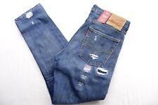 New Levi's Mens 510 0725 Skinny Fit Medium Distressed Denim Jeans Size 32 x 30
