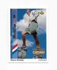 1993 Upper Deck World Cup Soccer Spanish Honorary Captains Wayne Gretzky HC4
