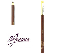 ** NEW - LA FEMME - KOHL EYELINER PENCIL - DARK BROWN **
