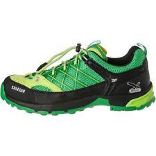 Salewa Junior Firetail Trekking y Senderismo Zapatos chicos UK 10 nos 11 EUR 28 ref 2486 *