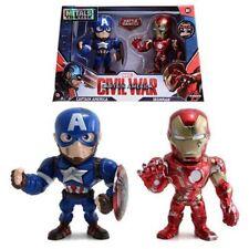 Captain America Civil War Iron Man Captain Battle Version Metal Figures Marvel