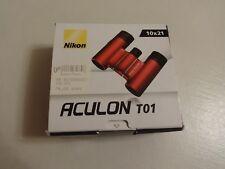 Jumelles NIKON Aculon T01 rouges