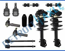 1995-1998 Dodge Plymouth Neon Front Struts Inner Outer Tie Rod Sway Bar Kit