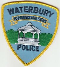 WATERBURY POLICE SHOULDER PATCH VERMONT VT