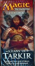MTG MAGIC 1 EVENT DECK KHANS OF TARKIR CONQUERING HORDES ANGLAIS