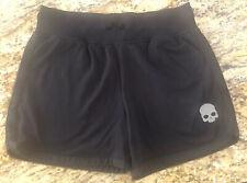 Hydrogen Women's Skull Tech Shorts Black Size L MSRP $81 NWT