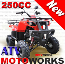 MOTOWORKS 250CC FARM ATV QUAD BUGGY Gokart 4 Wheeler MOTOR BIKE DIRT RED