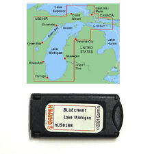 Garmin BlueChart Lake Michigan MUS016R Data Card Marine Chart 010-C0030-00
