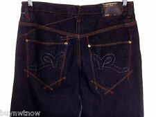 Mens RocaWear Denim Jeans Baggy 34 / 31 NW0T Dark Wash Staight 100% Cotton