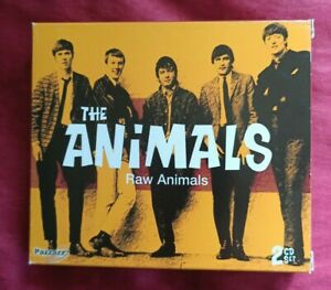 THE ANIMALS - RAW ANIMALS - 2CD BOX SET VGC+