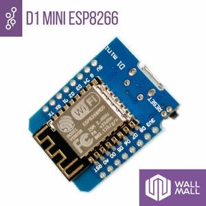 SCHEDA D1 MINI ESP8266 ESP-12 WLAN WIFI NODEMCU MODULO BOARD IOT WEMOS ARDUINO