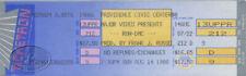 RUN DMC 1988 RUN'S HOUSE UNUSED CONCERT TICKET