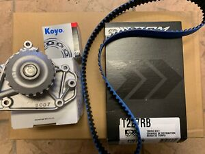 90-01 INTEGRA LS B18 B20 GATES BLUE RACING TIMING BELT WATER PUMP TENSIONER KIT