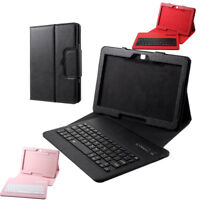 Removable Bluetooth Keyboard Stand Case Cover for Samsung Galaxy Tab 4 10.1 T530