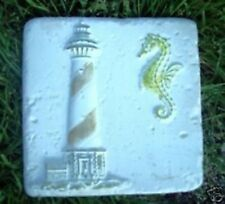 Gostatue MOLD  accent lighthouse  tile abs plastic mold