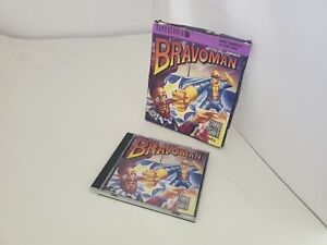 Official  Case + Box +  Manual  Only for  Bravoman Turbo Grafx 16  ( NO GAME)