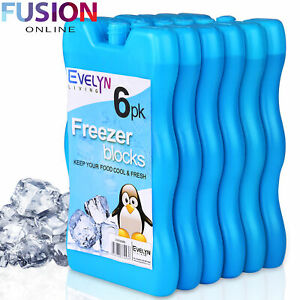 Freezer Ice Blocks Reusable Cool Cooler Pack Bag Freezer Picnic Travel Lunch Box