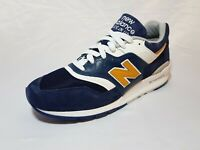 New Balance Made In USA 997 Mens Size 11 Navy Blue White Gold M997PAN