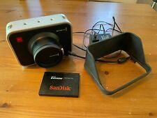 Blackmagic Cinema Camera Body EF 2.5K RAW + 480GB SSD + Hood + Charger